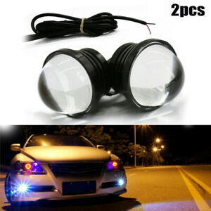 Tail Driving Lights Universal Accessory Parts 2pcs Eagle Eye Lamp Led Drl