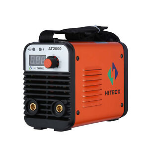 110v 220v Mini Electric Welding Machine Igbt Ac Inverter Arc Mma Stick Welder Us