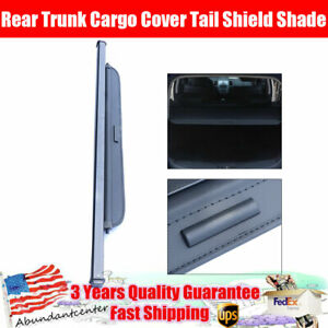 Retractable Rear Trunk Cargo Cover Tail Shield Shade For 2010 2017 Kia Soul L4