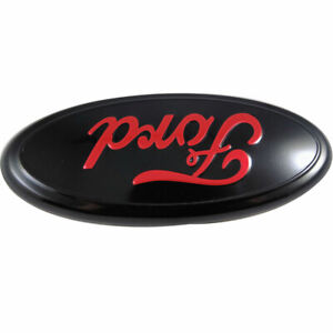 For F 150 2004 2014 Red Oval Front Grille Or Rear Tailgate 9 Inch Emblem
