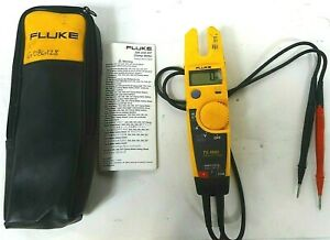 Fluke T5 1000 1000 Voltage Continuity Current Electrical Tester Free Shipping