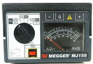 Megger 212159 mj159 Hand cranked Insulation Tester Free Shipping