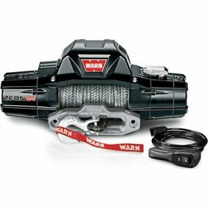 Warn 95950 Zeon 12 S Winch With 80 Ft Spydura Pro Synthetic Rope And Hawse Fair