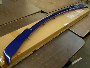 Nos Oem Roush Mustang 2015 2020 Spoiler Wing 2016 2017 2018 2019 Coupe Gt Blue