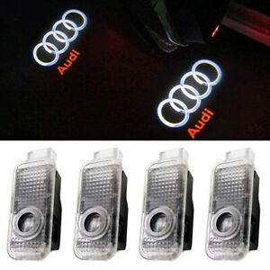 Courtesy Laser Projector Logo Ghost Shadow Welcome Led Light For Audi 4pcs