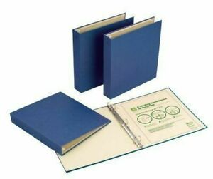 Avery Recyclable Binder With Ez turntm Ring Holds 8 5 X11 Inch Paper Blue 50001