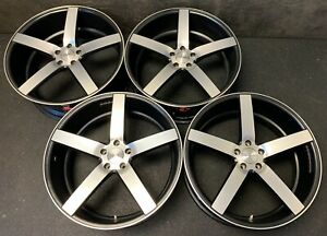 4 Vossen Cv3 r Wheels Rims Caps 22 x9 Bolt Pattern 5x114 3