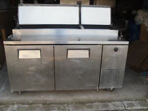 Used Pizza sandwich Prep Table Has Refrigerated Base Model Tpp 67 Make True