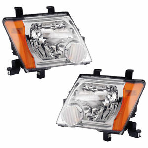 For Nissan Xterra 2005 2006 2007 Pair New Left Right Headlight Assembly Dac