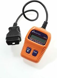 Actron Cp9125 C Pocketscan Code Reader For 1996 And Newer Vehicles Orange