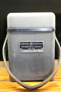 General Electric Type 1b 10 Portable Watthour Meter Standard Test Unit Ge