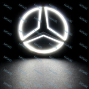 5d Led Car Tail Logo White Light Badge Emblem Light For Mercedes benz S350 S300l