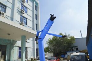 20ft Inflatable Advertising Air Puppet Tube Sky Wavy Man Wind Dancer No Blower