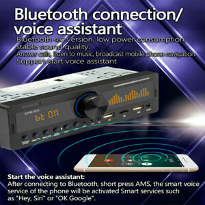 Bluetooth Vintage Car Fm Radio Mp3 Player Usb Classic Stereo For Audio Receiver