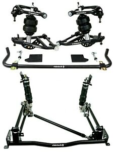 New Ridetech Air Ride System control Arms 4 link sway Bar 55 57 Chevy 1 pc Frame