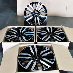 22x10 Wheels Fit Range Rover Sport Supercharge Hse Svr Style Rims Set 4