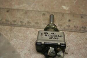 Cutler hammer Ms25306 242 Dpst On off Toggle Mil Specs New 12 Available