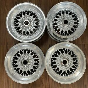 Bbs Rs 005 061 Wheels 5x120 Bmw E28 E30 M3 E34 M5 Alpina E12 16 Rs2 Rsii