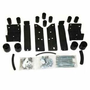 Daystar Pa5603 Black 3 Body Lift Nylon Block Kit For Toyota Tacoma 6 lug