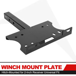 Universal Winch Cradle Bracket Winch Mount Plate For 1300 16500lb Recovery Winch