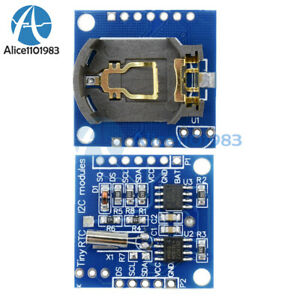 2 5 10pcs rtc I2c Ds1307 At24c32 Real Time Clock Module For Arduino Avr Arm Pic