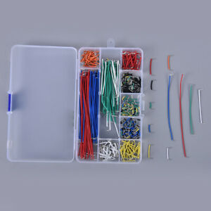 560pcs Jumper Kits Breadboard Lines Circuit Board Jumpers U Shape Cable Wire Y1