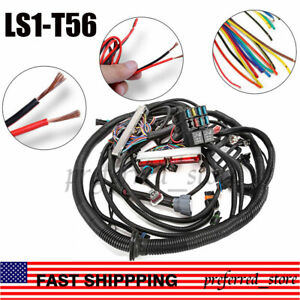 Standalone Wiring Harness For 97 02 Dbc Ls1 T56 Or Non electric Tran 4 8 5 3 6 0