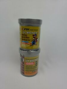 Pc Products Pc woody Wood Repair Epoxy Paste Two part 12 Oz In Two Cans