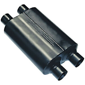 Flowmaster Super 40 Series Exhaust Muffler 2 5 Dual Inlet 2 5 Dual Outlet