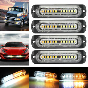 40 Truck Tailgate Strip Led Sequential Turn Signal Brake Tail Reverse Light Bar