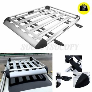 50 X 38 Universal Roof Rack Extension Cargo Car Top Luggage Carrier Basket