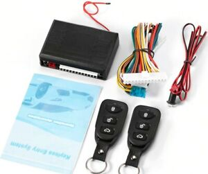 Car Remote Central Door Lock Keyless System Remote Control Car Alarm Systems Cen