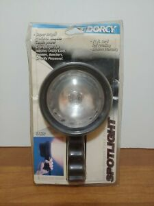 Dorcy Handheld Spotlight Cigarette Plug New In Package