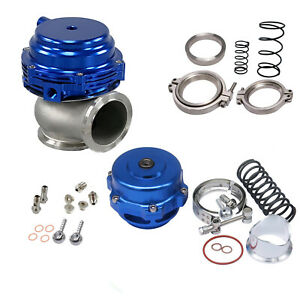 Turbo Combo Turbo Blow Off Valve Bov 50mm Waste Gate Mvr 44mm W Hardwares Blue