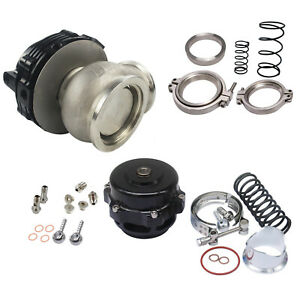 Turbo Combo Turbo Blow Off Valve Bov 50mm Waste Gate Mvr 44mm W Hardwares Bk