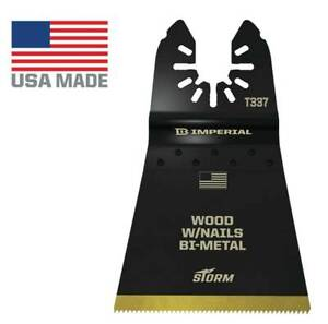 Imperial Blades Iboat337 3 One Fit 2 1 2 Storm Titanium Wood Nails Blade 3pc