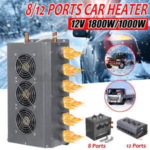 12v Universal Underdash Heater With 12 Ports Cars Trucks Defroster Demister