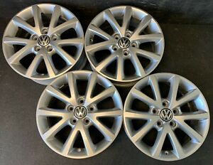 4 Vw Volkswagen Golf Jetta Passat Rabbit Eos Wheels Rims Caps 16