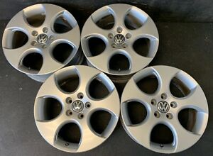 4 Vw Volkswagen Golf Jetta Passat Rabbit Wheels Rims Caps 17