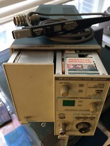 Tektronix Am503a A6302 or A6303 Tm502a Dc 50mhz Current Probe Package