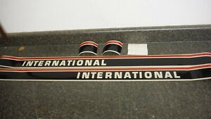 International 584 Tractor Decal Set Hood And Numbers Only See Details pics