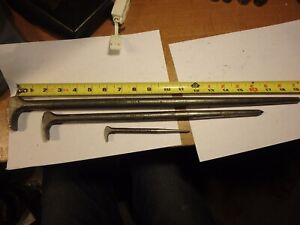 1a 3 Snap On Rolling Head Lady Foot Pry Bars 2050 1650 650