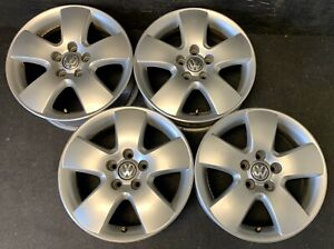 4 Vw Volkswagen Jetta Beetle Golf Passat Wheels Rims Caps 15