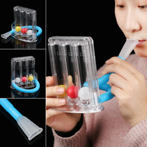 System Respiratory Exerciser Lung Breathing Trainer Spirometer Vital Capacity