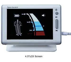 1 endodontic Root Canal Finder Woodpecker Dte Style 4 5 lcd Dental Apex Locator