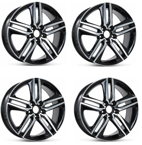 4pc 19 Honda Accord Civic Si Crosstour Rims Sport Crv Element Wheels