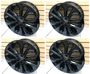 4pc 18 Honda Accord Sport Hfp Style Rims Alloy Wheels Civic Si Crv Tsx Bk