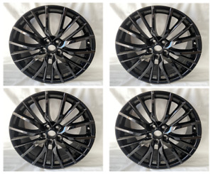 4pc 20 F Sport Style Gloss Black Rims Wheels Fits Lexus Is250 Es350 Gs350 Rx35