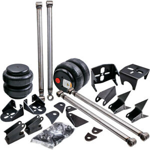 Triangulated 4 Link Kit Brackets 2500 Lbs Bags Air Ride Suspension 2 75 24 00
