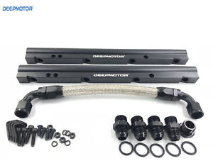 Billet Fuel Rail Kit For Oe Ls1 Ls6 Stock Intake Manifold 10an Hardware